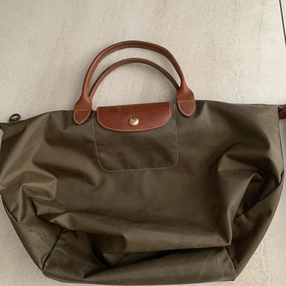 Longchamp purses in medium. Good condition